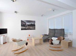 Sylt Miete | Wohnzimmer